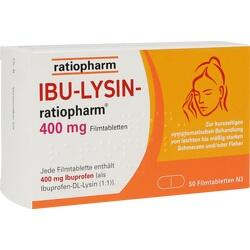 IBU LYSIN RATIOPHARM 400MG